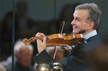 Երևանում ելույթ կունենա «Գրեմմի»-ի բազմակի մրցանակակիր, ջութակահար Գիլ Շահամը
