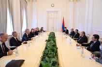 Президент Армен Саркисян принял делегацию группы докладчиков Комитета министров СЕ по вопросам демократии