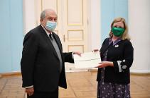 ՀՀ նախագահին   հավատարմագրերն է հանձնել Հայաստանում Իռլանդիայի նորանշանակ դեսպանը