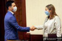 Ռուստամ Բադասյանն ԱՄՆ դեսպանի հետ քննարկել է ոլորտային համագործակցության հարցեր