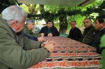 President Arayik Harutyunyan visited Taghavard community of Martuni region