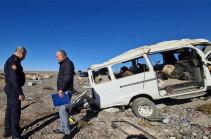 Երևան-Գյումրի ավտոճանապարհին վթարի հետևանքով տուժածներից 2-ը ծայրահեղ ծանր վիճակում է. ՀՀ ԱՆ