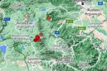 В 15 км к северо-востоку от села Бавра произошло землетрясение