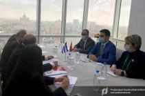 Հայաստանն ու Կուբան կզարգացնեն համագործակցությունը մաքսային ոլորտում