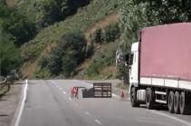 Азербайджанцы, по всей видимости, закончили строительство пропускного пункта – Каро Кочарян