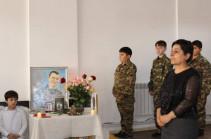 Բերդում անցկացվել է հուշ-ցերեկույթ՝ նվիրված 44-օրյա պատերազմում զոհված Սուրեն Մելիքբեկյանի հիշատակին