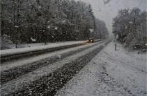 Գյումրիում, Աշոցքում ու Ծաղկահովիտում ձյուն է գալիս