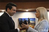 Ալեն Սիմոնյանը վերահաստատել է Հայաստանի լիակատար աջակցությունը Կիպրոսին. ԱԺ նախագահը կիպրոսցի գործընկերոջը հրավիրել է Հայաստան