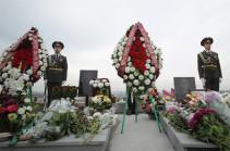 Հիշատակի արարողություն «Եռաբլուր» զինվորական պանթեոնում