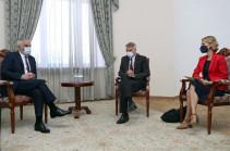 Փոխվարչապետ Մհեր Գրիգորյանն ընդունել է ՀԲ տարածաշրջանային տնօրենին և ՀԲ հայաստանյան գրասենյակի նորանշանակ ղեկավարին