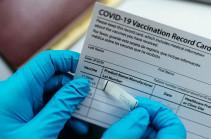 Шесть человек арестованы за выдачу фальшивых сертификатов о вакцинации – Пашинян