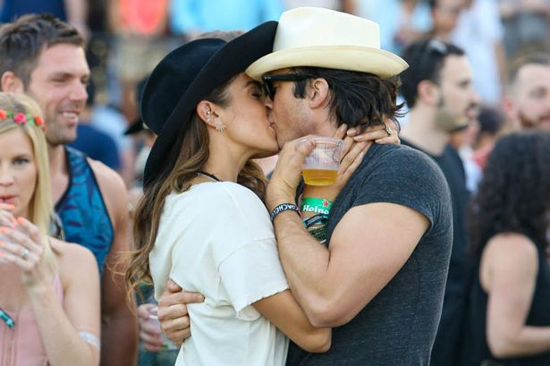 Ian somerhalder and nikki reed are married stars tie the knot in ian somerhalder and nikki reed are reported to have tied the knot yesterday after photographs of their wedding ceremony emerged on twitter junglespirit Images