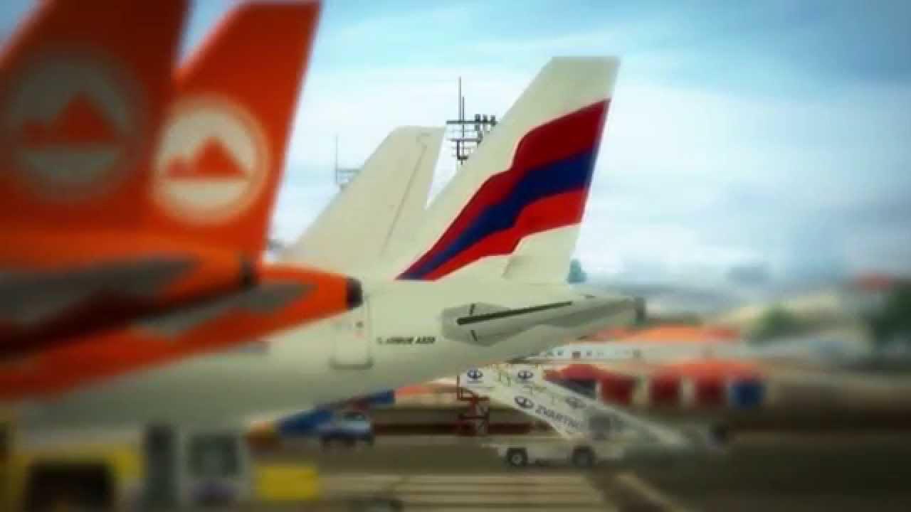 Аэропорт в гюмри