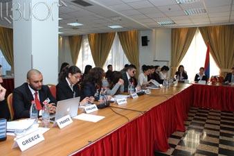 Model European Union 2011 held in Yerevan