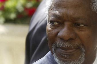 Кофи Аннан до конца недели посетит Россию и Китай