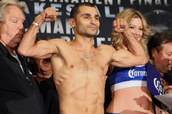 Darchinyan, Yamanaka moved to light weight category