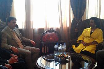 Փոխվարչապետն ընդունել է Քուվեյթի շեյխուհի ալ Սաբահին
