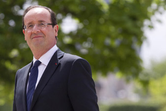 F. Hollande is to remove French forces from Afghanistan