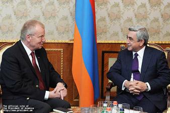 RA President met Ruprecht Polenz