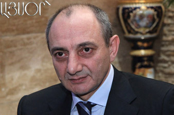 B. Sahakyan receives Robert Nazaryan's delegation