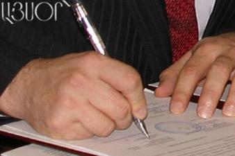 Նախագահը նշանակել է ՀՀ կառավարության անդամներին
