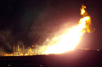 Oil-pipeline blasted in Syria