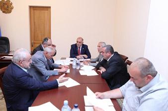 ԱԺ գյուղատնտեսական և բնապահպանական հարցերի հանձնաժողովի նիստ