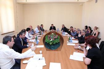 ԱԺ արտաքին հարաբերությունների մշտական հանձնաժողովի նիստ