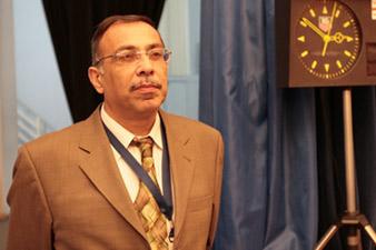 Ashot Vardapetian deputy chief arbiter