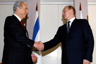 Russian and Israeli Presidents discussed Iran's nuclear program