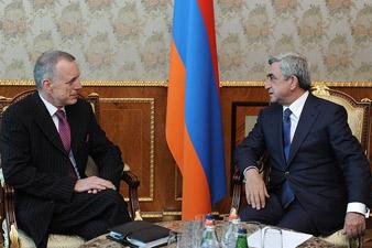 RA President meets Ambassador of Germany Hans-Jochen Schmidt