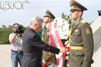 Heinz Fischer visited Tsitsernakaberd