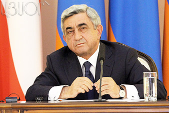 Serzh Sargsyan to leave for Kingdom of Belgium