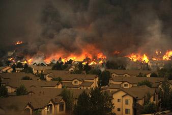 Пожар в Колорадо: погибли 2 человека, уничтожено 350 домов