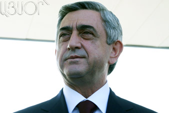 President Serzh Sargsyan to leave for Kiev