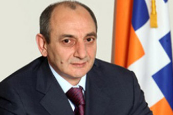 ԼՂՀ նախագահն շնորհավորել է Ս. Սարգսյանի ծննդյան տոնը