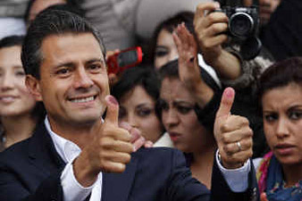 Opposition wins in presidential elections in Mexico