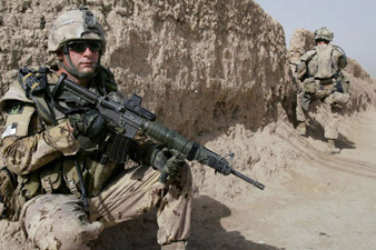 Afghan soldier shot and wounded five U.S. soldiers