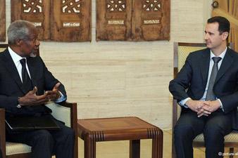 Assad and Annan had a constructive talk