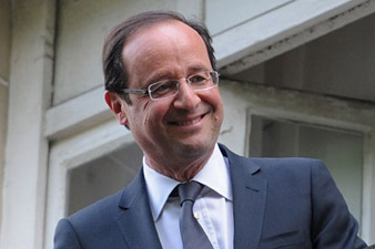Hollande confirmed law criminalizing denial of Armenian Genocide