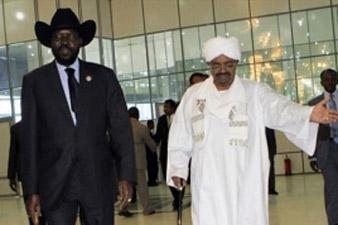 Presidents of Sudan and South Sudan met