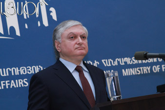 Edward Nalbandian leaves for Brussels