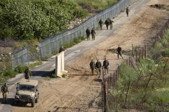 Israel reinforces security with Syria