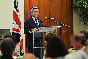 President: Armenia is pledge of our national identity