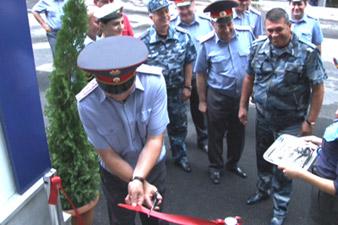 Ոստիկանապետը մասնակցել է երեք նորակառույց հենակետերի բացմանը
