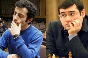 Armenian chess players in Biel