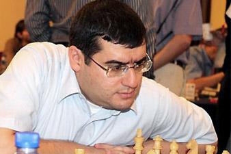 Sergei Movsesian and Hrant Melkumyan in Biel