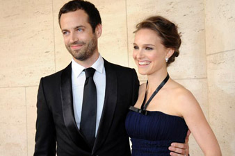 Natalie Portman marries Benjamin Millepied