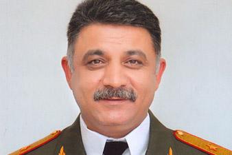 Հանրապետության զինկոմիսար Սերգեյ Չալյանը պաշտոնանկ է արվելու