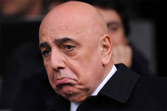 Galliani: Milan not playing at a Serie D side